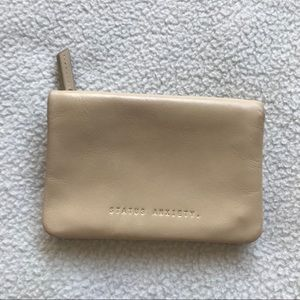 Status Anxiety Small Wallet Purse Italian Leather